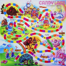 Photo Collection Printable Candyland Board Game