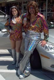 70s Disco Wedding Couple Vintage Theme Ideas Reception Costume