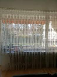wohnzimmer und balkon gardinen