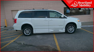 2017 Dodge Grand Caravan BraunAbility Entervan XT Wheelchair Van For Sale