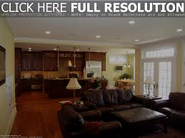 Living Room Empty Corner Ideas by Picture Of Open Plan Living Room Kitchen Design With Bar Idolza