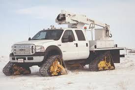 100 Trucks With Tracks Mattracks Model 200 Series Medium Duty Truck In