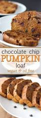 Libbys 100 Pure Pumpkin Nutritional Info by Vegan Chocolate Chip Pumpkin Loaf Oil Free Sweet Like Cocoa
