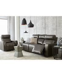 Oaklyn Leather Sofa Collection With Power Recliners Power