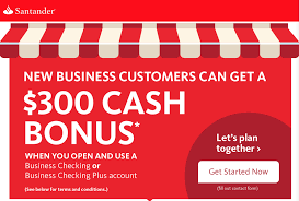 $300 Business Checking Bonus From Santandar Bank. #Banking ... Roundup Of Bank Bonuses 750 At Huntington 200 From Chase Total Checking Coupon Code 100 And Account Review Expired Targeting Some Ink Cardholders With 300 Brighton Park Community Bonus 300 Promotion Palisades Credit Union Referral 50 New Is It A Trap Offering Just To Open Checking Promo Codes 350 500 625 Business Get With 600 And Savings Accounts Handcurated List The Best Sign Up In 2019 Promotions Virginia