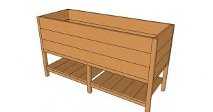 raised planter box plans free outdoor plans diy shed wooden