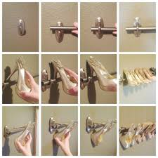 Curtain Rod Extender Diy by 15 Brilliant Things You Can Do With Command Hooks Diy Shoe Rack