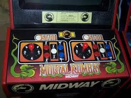 Mortal Kombat Arcade Cabinet Plans by Mortal Kombat I First Cab