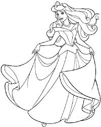 Printable Princess Coloring Page