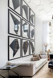 Use Large Scale Art To Decorate Tall Walls