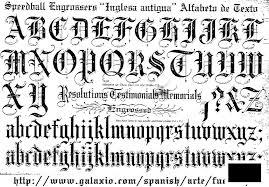 3 Tipos De Letras Goticas