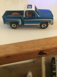 100 75 Chevy Truck Stepside Pickup Toy Car Die Cast And Hot Wheels