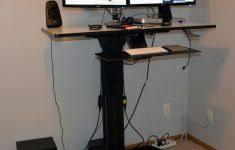 Ergotron Workfit D Sit Stand Desk by Modern Office Furniture Reception Desk Desk Design Ideas Www