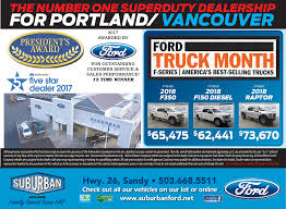 Ford Truck Month In Sandy, OR, Auto Dealerships - Suburban Ford - Sandy Ford Dealer In Chapmanville Wv Used Cars Thornhill 2018 Truck Month Archives Payne It Forward Has Begun At Auto Group Giant Savings Our Youtube Dealership Near Boston Ma Quirk Gm Topping Pickup Truck Market Share Brandon Ms Ford Truck On Vimeo Camelback New Dealership Phoenix Az 85014 Ed Shults Fordlincoln Vehicles For Sale Jamestown Ny 14701 Beshore And Koller Inc Manchester Pa Nominations February Of The F150 Forum