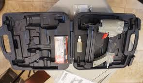18 Gauge Floor Nailer Ebay by Porter Cable Brad Nailer Kit Nail Gun Stapler 18 Gauge Pneumatic