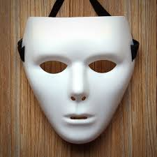 Halloween Purge 2 Mask by The Purge Plastic Transparent Face Mask Male Female Halloween