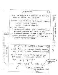 Sinking Fund Formula Derivation by Finite Mathematics Daily Syllabus