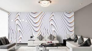 tapeten weiß stylisches design auf vlies mowade