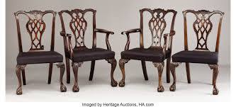 A Set Of Eight George III Style Upholstered Dining Chairs ... Antique Chairsgothic Chairsding Chairsfrench Fniture Set Ten French 19th Century Upholstered Ding Chairs Marquetry Victorian Table C 6 Pokeiswhatwedobest Hashtag On Twitter Chair Wikipedia William Iv 12 Bespoke Italian Of 8 Wooden 1890s Table And Chairs In Century Cottage Style Home With Original Suite Of Empire Stamped By Jacob Early