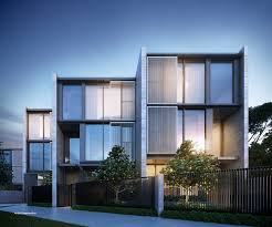 100 New Townhouses For Sale Melbourne Parkville By Oliver Hume Parkville VIC