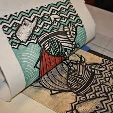 269 Best Lino Tiles Images On Pinterest
