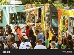 100 Food Trucks Atlanta ATLANTA GA APRIL Image Photo Free Trial Bigstock