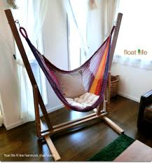 Chair Hammock Room Setting Wood Stands Float Life N Line