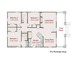 Craftsman Style Floor Plans Bungalow by Bungalow House Plans Small House Plans Green Home Plans Small