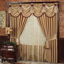 Living Room Drapes With Valances Fancy Curtains Modern Sewing