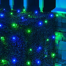Laser Light Projector Green And Red And Blue Lights Garden