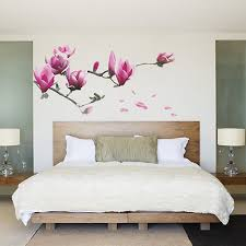 Wall Mural Decals Flowers by Vinyl Stickers Wall Art