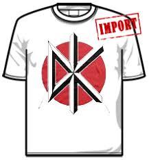 Dead Kennedys Halloween Shirt by Dead Kennedys Merchandise Short Sleeve T Shirt Skinny Fit T