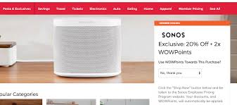 Perks At Work 20% Off Coupon On Sonos YMMV - Slickdeals.net Boscovs Promo Codes Extra 20 Entire Order Full Service Boscovs In Vineland Nj Cumberland Mall Visit Us Today Hypixel Coupon Code December Discount Coupons For Medieval Kohls 15 Off Codes November 2019 Store Lokai Bracelet Stila Canada Cbazaar Black Friday Ads Sales Deals Doorbusters 2018 Marianos 5 Off Valentine Mplate Free Todays Daily Receive An Toys R Us 3ds Promo Adoramapix Papa Johns Kennesaw Ga Devoe Cadillac