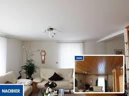 wohnzimmerdecke renovieren so einfach geht s mit plameco