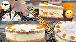 klassiker den jeder liebt die käsesahnetorte ganz ohne gelatine cremig und zart mit mandarinen