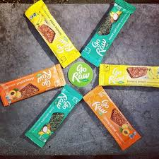 Go Raw Sprouted Pumpkin Seeds Bar by Go Raw Sprouted Bars Paddock Post