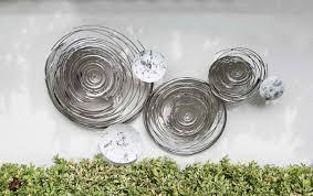 136 99 gilde wanddekoobjekt wandrelief circles weiß