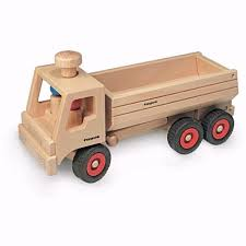 100 Dump Truck Toddler Bed Fagus Wooden Toy Tipper