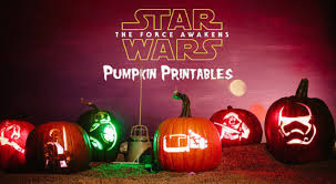 Scooby Doo Pumpkin Carving Ideas by Cool Printable Star Wars The Force Awakens Pumpkin Patterns