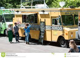 100 Food Trucks Atlanta Serve Customers At Springtime Festival
