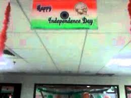 Cubicle Decoration Themes India by Independence Day Theme Decoration Youtube