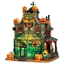 Lemax Halloween Village Displays by Lemax Spooky Town Collection Hemlock U0027s Nursery Seasonal
