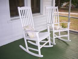 Building Porch Rocking Chairs