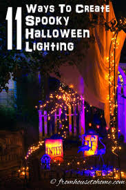 Halloween Flickering Light Bulbs by 25 Best Halloween Lighting Ideas On Pinterest Spooky Halloween
