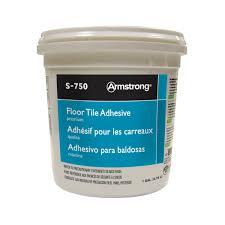 armstrong 1 gallon s 750 premium floor tile adhesive