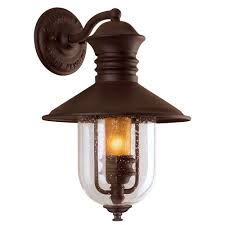 sleek bronze outdoor integrated led wall mount flood light plus