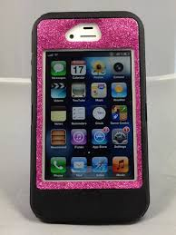 SALE Otterbox Case iPhone 4 4S Glitter Cute Sparkly Bling Defender