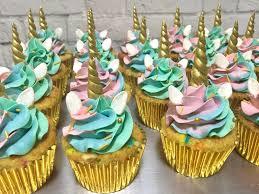 Unicorn Cupcakes & Madelaines