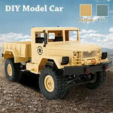 100 Cool Truck Pics WPL B1 116 4WD 24G Crawler OffRoad RC RTR