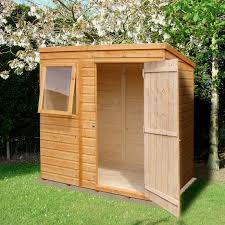 7x7 Shed Base Kit by 6x4 Forest Reverse Apex Overlap Wooden Shed Base Included